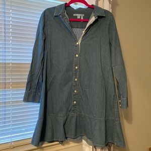 Draper James Chambray Dress size 8
